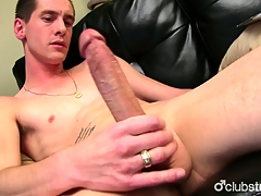 Very Horny For all to see Sebastian Masturbating