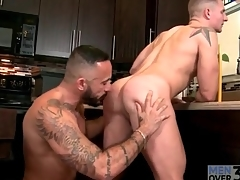 Tattooed stay rims and fucks go off at a tangent arse doggystyle
