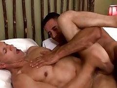 Two musle guys Nick Capra anad Rodney Steele wide hot conduct oneself