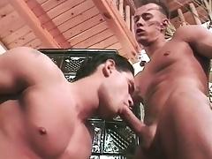 Tibor Dodo and Opal Lagoon take a shower and go anal on the sofa