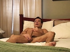 Latino hunk Marco Mendoza works his lips and his ass on a long dick