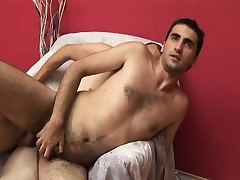 Two gays go at it with hot cock sucking and nasty ass fucking